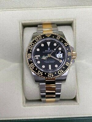 $ CDN15383.80 • Buy Rolex GMT Master II 116713 Ceramic 18K Yellow Gold Stainless Steel