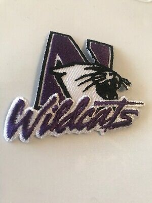 $6.99 • Buy NorthWestern University Wildcats Vintage Embroidered Iron On Patch 2.5  X 2""
