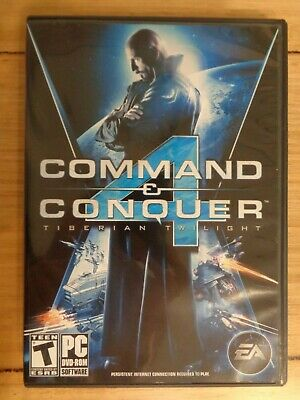 AU12 • Buy Command & And Conquer 4: Tiberian Twilight - PC DVD-ROM - RTS Strategy Game