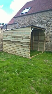 Animal Field Shelter 6'x 8'x 6'6  Cow Sheep Ponies Goats, Free Delivery 50 Mile • 375£