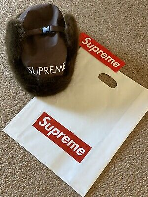 $ CDN101.03 • Buy Authentic SUPREME Fur Hat