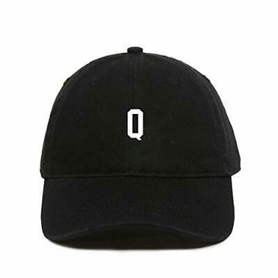 $ CDN22.61 • Buy Q Initial Letter Baseball Cap Embroidered Cotton Adjustable Dad Hat