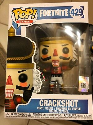 $ CDN36.33 • Buy **IN HAND** EXCLUSIVE Funko Pop! FORTNITE CRACKSHOT *RARE* #429