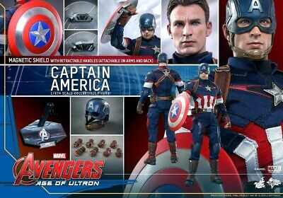 $ CDN565.50 • Buy Hot Toys MMS 281 Captain America Avengers: Age Of Ultron 1/6 Masterpiece Figure