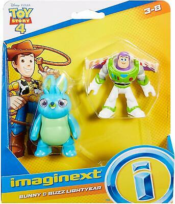 £11.99 • Buy Imaginext Toy Story 4 - Bunny And Buzz Lightyear Figures *BRAND NEW*