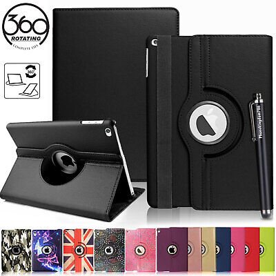 £4.59 • Buy For Apple IPad 8th Generation 10.2  2020 360° Rotating Smart Leather Case Cover
