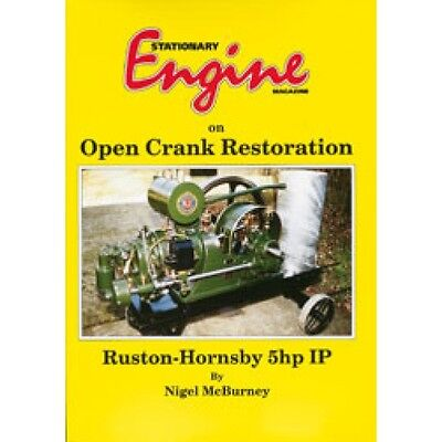 Stationary Engine Magazine On Open Crank Restoration - Ruston Hornsby 5HP IP • 18.50£