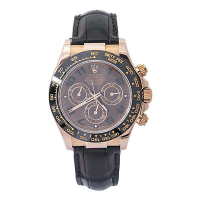 $ CDN35293.40 • Buy Rolex Daytona 116515LN Ceramic 18K Rose Chocolate W/Papers Automatic Watch 40mm