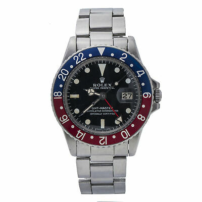 $ CDN22687.47 • Buy Rolex 1675 GMT Master Long E Punched Paper 1971 Red Back Insert Folded Bracelet