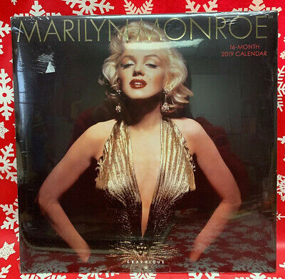 $8 • Buy MARILYN MONROE 2019 Graphique Calendar, Great Pictures! Beautiful