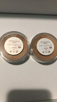 £56.72 • Buy (2 PACK) Sheer Cover Mineral Foundation 4g - Almond - Rare And Discontinued