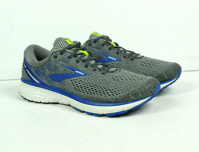 AU128.74 • Buy Brooks Men's Ghost 11 Gray/Navy Running Shoes Sneakers 110288 Size 11.5 2E