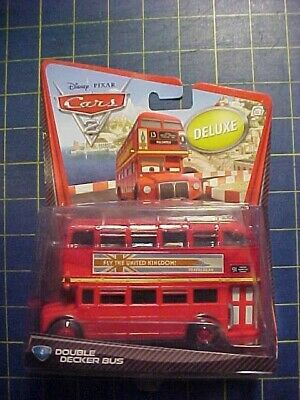 $ CDN33.11 • Buy Disney Pixar Cars 2 Deluxe Size Double Decker Bus #4!  Nip  Mega