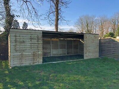 Field Shelter 24' X 9', Mobile, Sheep, Alpaca, Ponies, Delivery Available • 1,395£