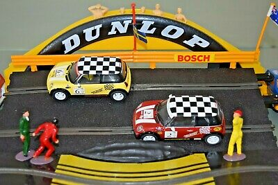 2xScalextric Mini Cooper. Both VGC And Full Lights - Not Boxed • 33£