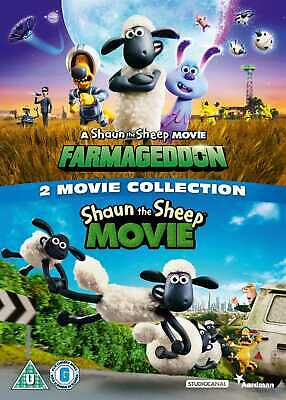 SHAUN THE SHEEP - 2 MOVIE COLLECTION (DVD) (New) • 10.99£