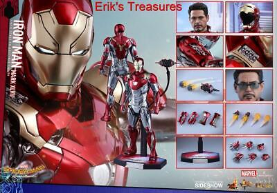 $ CDN959.36 • Buy Hot Toys Iron Man Spider-Man Homecoming Mark 47 Diecast MMS427-D19 NEW SEALED!!