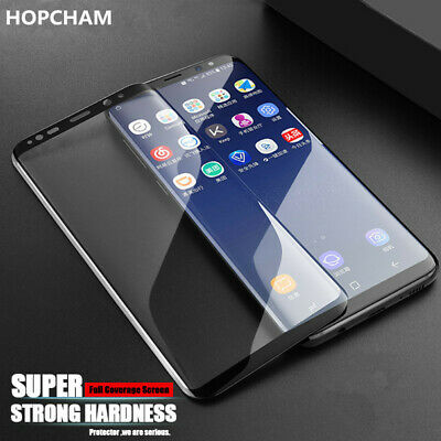 $ CDN3.22 • Buy Full Cover Tempered Glass Screen Protector For Samsung Galaxy Note 10+ S10 S9 S8