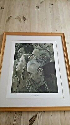 $ CDN24.88 • Buy 1943 Norman Rockwell 'Freedom To Worship' By Curtis Publishing Company F&G 31x41