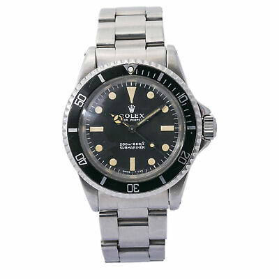$ CDN18448.21 • Buy Rolex Submariner 5513 1968 Meters First Vintage Stainless Mens Automatic 40mm
