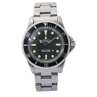 $ CDN18761.01 • Buy Rolex Submariner 5513 1968 Meters First Vintage Stainless Mens Automatic 40mm