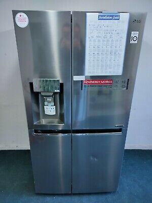 View Details LG GSL961PZBV American Fridge Freezer Stainless Steel A+ Non Plumb 80 • 677.00£