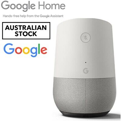 AU135 • Buy Minimalist Google Home SMART SPEAKER High Excursion Assistant Voice-activated