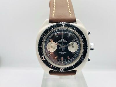 $ CDN698.16 • Buy Vintage Watch Chronograph Nobreza Valjoux 7733  1970