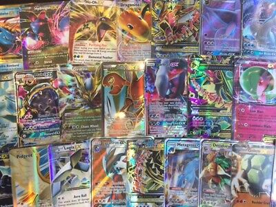 AU9.99 • Buy Pokemon Cards ULTRA RARE Mystery Bulks — 5x-100x Card EX/GX/Break + RARES/HOLOS