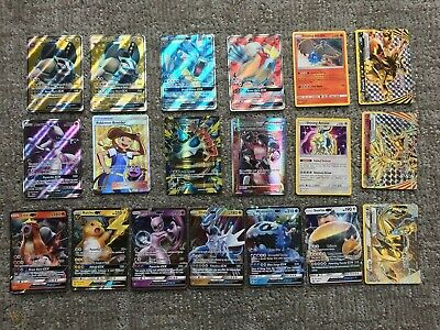 AU5.99 • Buy Pokemon Mega Rare Mystery Bulk Lots - GUARANTEED EX/GX Shiny Card + Holos