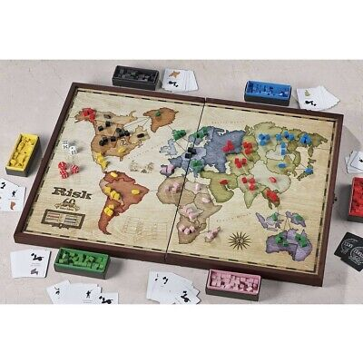 $79.99 • Buy NEW Risk 60th Anniversary Deluxe Edition Wooden Board Game