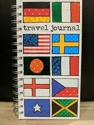 £6.99 • Buy Soul Flags Travel Journal Notebook Pad Holiday Scrapbook Spiral Bound New