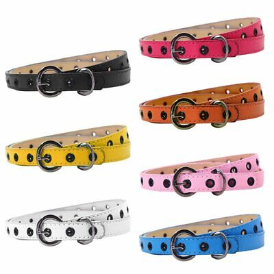 $6.76 • Buy  Toddler Kid PU Leather Waistband Adjustable Buckle Belts Strap Multi-Color US
