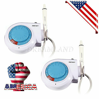 $195 • Buy 2*Dental Ultrasonic Piezo Scaler Compatible With EMS Woodpecker Teeth Cleaner
