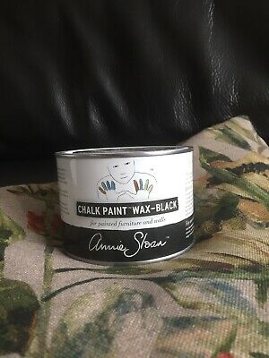 Annie Sloan BLACK Wax For Chalk Paint- Add Patina - A Large 500ml Tin Black Wax • 16.49£