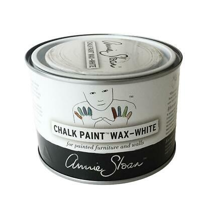 Annie Sloan WHITE Wax For Chalk Paint-add Highlights A Large 500ml Tin White Wax • 16.49£