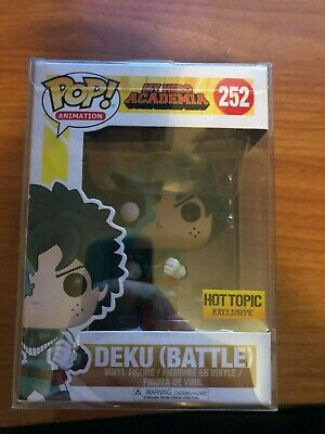 $17 • Buy Funko Pop! Deku (Battle) My Hero Academia #252 Hot Topic Exclusive