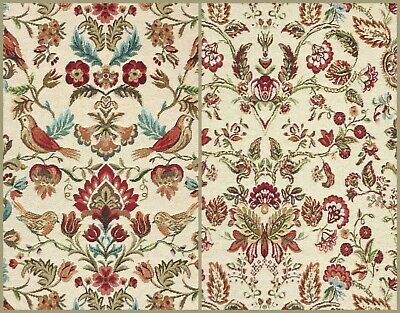 WILLIAM MORRIS Inspired - Cotton Rich Tapestry Fabric Material -140cm 54  Wide  • 7.95£