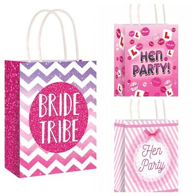 £0.99 • Buy HEN NIGHT PARTY BAGS Bride To Be Girls Ladies Night - With Tissue Paper
