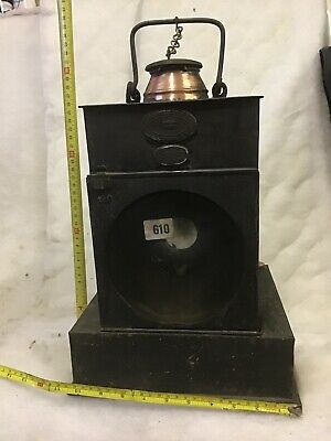 Rare Eastern Region(southern) Paraffin Lamp For Notice Board/buffer Signal • 0.99£