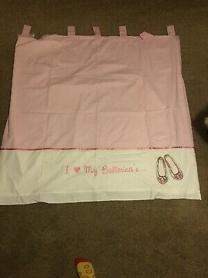 Next Baby Pink Curtains • 2.70£