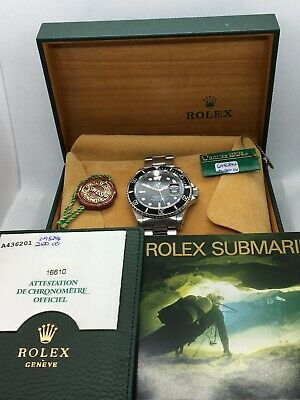 $ CDN9500 • Buy Rolex Submariner Date 16610 Stainless Steel 40mm Automatic Dive Watch