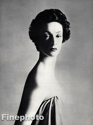 $234.18 • Buy 1953 MARELLA AGNELLI Fashion Model Italy Fiat By RICHARD AVEDON Photo Art 16x20