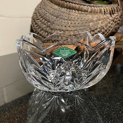 $12.95 • Buy Shannon Crystal  Designs Of Ireland  5 3/4  Square Bowl Czech Republic  Pristine