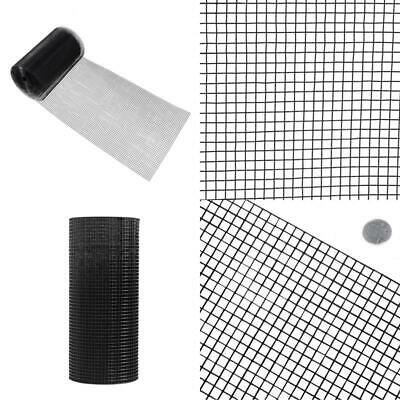 4 Ft. X 50 Ft. 16-Gauge Black Pvc Coated Welded Wire Fence With Mesh Size 1/2 In • 160.78£