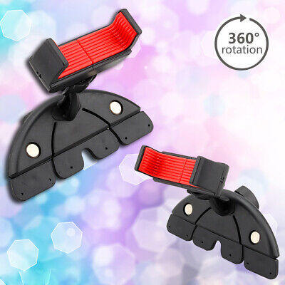 New -Li259 360° Car CD Dash Slot Holder Mount Stand For Cell Phone GPS Sony • 3.89£