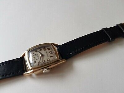 Vintage 1920s-1930s Hamilton USA 17 Jewels Gents Watch,in A 10k Gold Filled Case • 195£