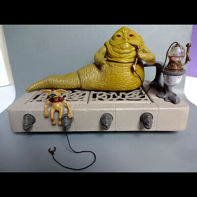 $ CDN36.23 • Buy Vintage Star Wars Jabba The Hutt Playset Complete & Excellent Condition