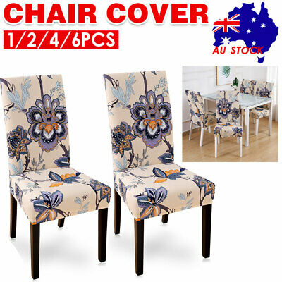 AU35.99 • Buy Stretch Dining Chair Cover Removable Slipcover Washable Banquet Furniture Covers