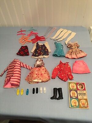 $ CDN19.85 • Buy Lot Vintage Fashion Doll Clothes Dresses Shoes Heels Hangers Barbie Others TLC